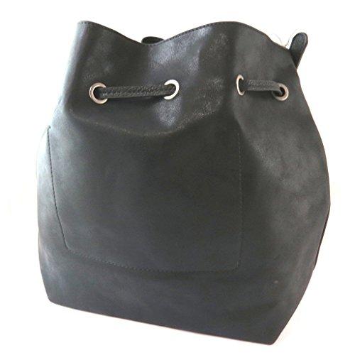 Bursa 'Lulu Castagnette'negro - 39x29x13 cm.