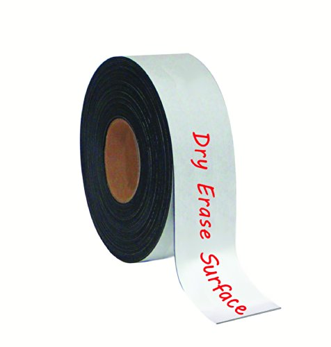 """UPC 560375068741, MasterVision Tape Roll Magnetic Dry Erase , 2"""" x 50' White"""