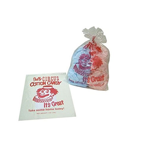 Gold Medal 3065 12'' X 18'' Cotton Candy Bag 100/ct by Gold Medal (Image #1)