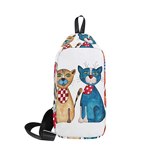 For Bennigiry amp; Shoulder One Women Sling Backpack Men Bag Crossbody Bags Merry Chest Christmas wqSrvwf