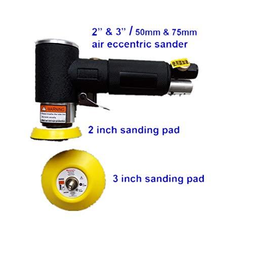 Lysee 2 inch 3 inch Air Eccentric Sander Pad Pneumatic ...