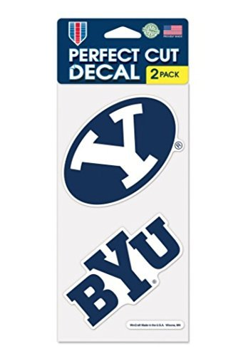 Brigham Young University BYU Cougars 4 x 8 inch Set of Two -