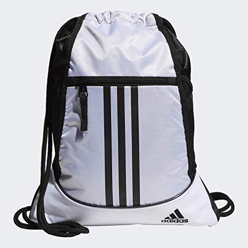 adidas Unisex Alliance II Sackpack, White/Black, ONE SIZE