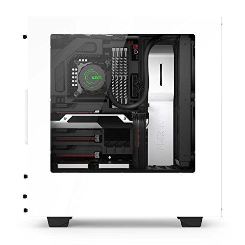 NZXT S340 Mid Tower Computer Case, White (CA-S340W-W1) by Nzxt (Image #10)