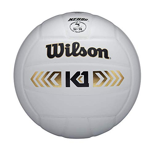Wilson K1 Gold High Performance Volleyball - White