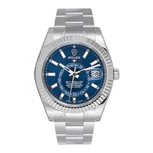 OYSTER PERPETUAL SKY,DWELLER Blue dial 326934