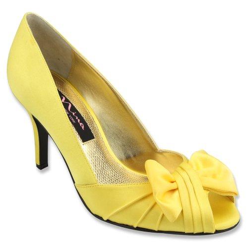 Nina Fonda Damen Silber Kleid Sandalen Schuhe Größe Ohne Karton