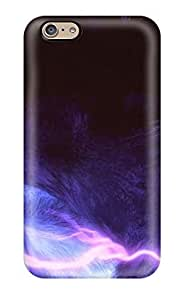 High Grade Art Marie Johnson Flexible Tpu Case For Iphone 6 - Awesome My Purple By Tribalwolfie