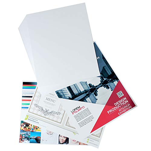 White Cardstock Paper 8 x 10 Inches (50 Sheets) 80lb Cover, 220gsm, Blank ()