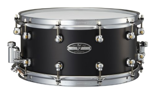 Pearl HEAL1465 14 x 6.5 Inches Hybrid Exotic Snare Drum - Cast Aluminum (Snare Hybrid)