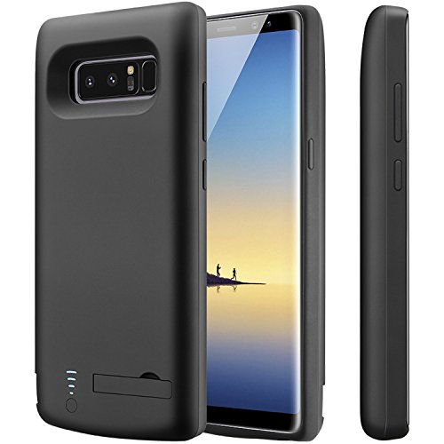 Galaxy Note 8 Battery Case,PEYOU® 6500mAh Large Capacity No Extra Chin TPU Frame Protective Charging Case Extended Backup Charger Power Bank Cover For Samsung Galaxy Note 8 6.3