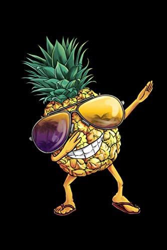 Notizbuch: Ananas Pineapple Dabbing A5 liniert Notebook I Hawaii Sommer Journal I Geschenk für den Urlaub Strand I Tanzende Frucht mit Sonnenbrille (German Edition) (Familie Sonnenbrille)