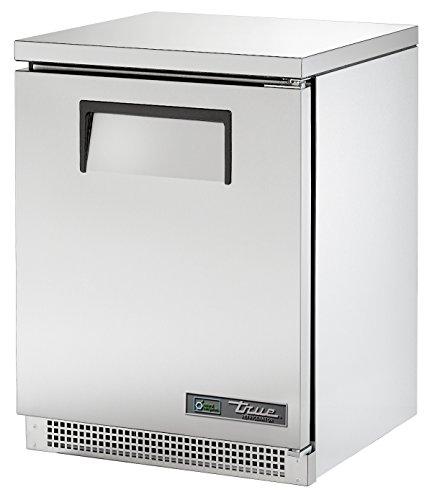 True TUC-24-HC Undercounted Solid Door Refrigerator with Hydrocarbon Refrigerant, 31.625