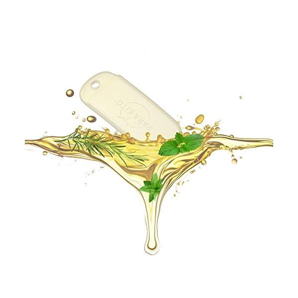 Para'kito - Pulsera de difusión de aceite esencial contra mosquitos para adultos 12