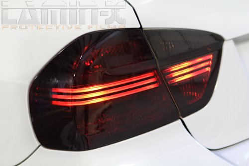Lamin-x AC215C Charcoal Tail Light Film Covers