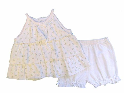 First Impression Baby Girl White Sundress and Panties 6-9 Months