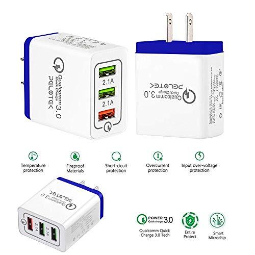 Pelotek- 30W Ultra-Fast USB Charger Wall Station✮ {QC 3.0
