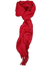 Women's Must Have Solid Color Crinkle Scarf
