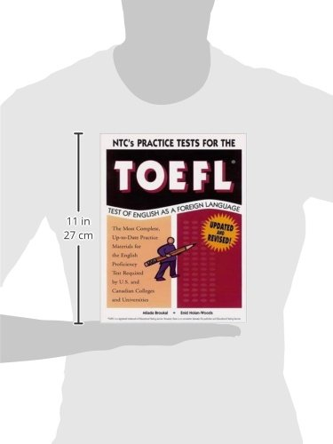 Ntc's Practice Tests for the Toefl: Test of English As a Foreign Language by Brand: Ntc Pub Audio