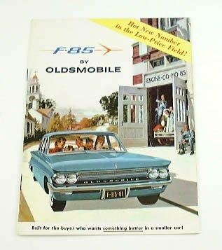 (1961 61 Oldsmobile F-85 BROCHURE 4dr Sedan and Wagon)