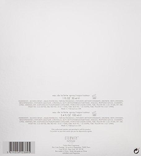 Calvin Klein 2 Piece Eternity Intense Men's Gift Set