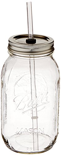 Carson Home Accents The Original Red Nek Guzzler Drinking Jar, 32-Ounce