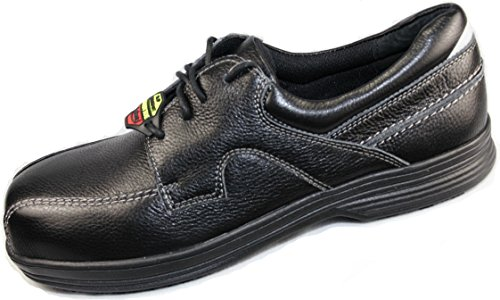 Laforst Seger 8200 Mens Work Antiscivolo Lace Up Oxfords Nero 14 Nero