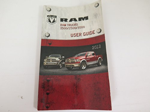 2012 Dodge Ram Trucks 1500/2500/3500 Owners Manual