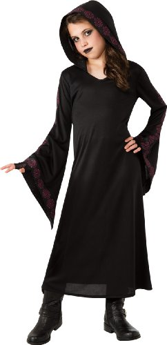Gothic Vampire Dress (Girl's Gothic Robe Costume, Small)
