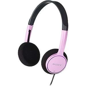 Sony Lightweight Children's Stereo Headphones (Pink)