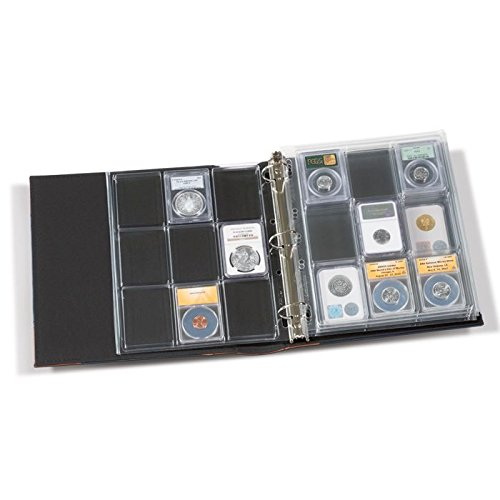 or Coin Collections Lighthouse Vario 3 Ring Vario Vintage Binder For Stamp Currency
