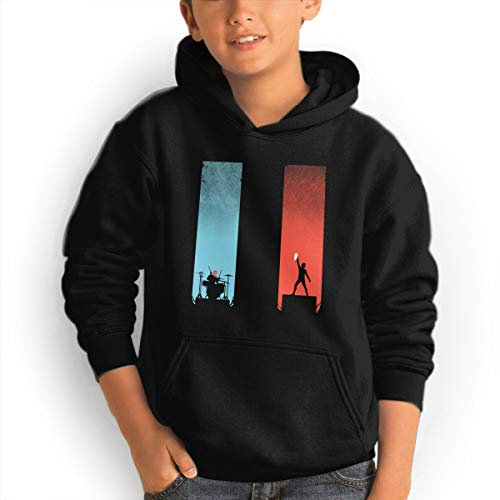 Funny Teen Youth Hoodies Cool Trendy Tshirt Hot Tops Long Sleeve Sweatshirt for Teens, 21 Pi-Lots Black