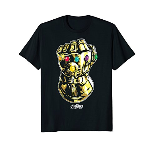 Marvel Avengers Infinity War Gauntlet Fist Graphic T Shirt