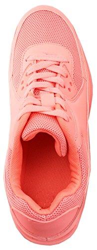 Chunkyrayan Turnschuhe Sport Sneaker Kinder 2 Herren Trendige Unisex Laufschuhe Pink Damen Basic 0fX8qwfBCx