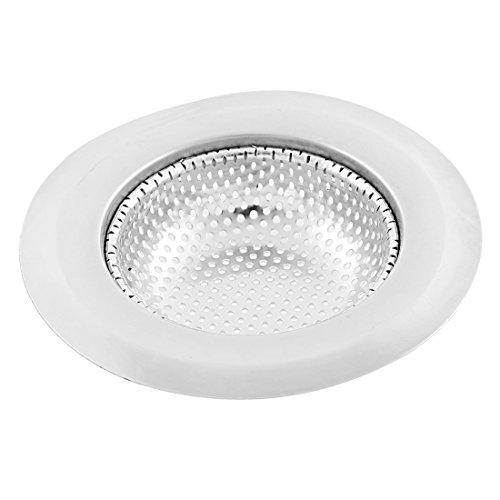 - uxcell Kitchen Stainless Steel Sink Strainer Drain Stopper Basket Filter Catcher 11cm Diameter