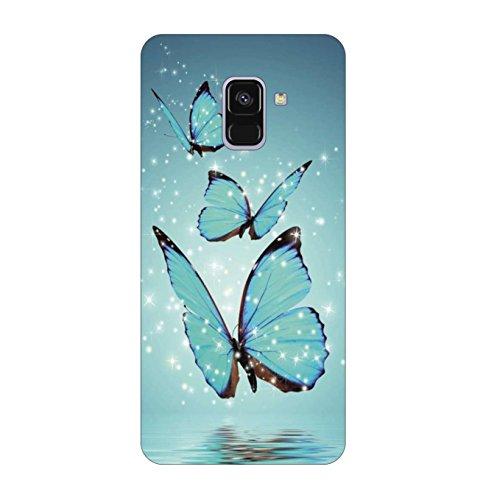 Go Hooked Designer Samsung Galaxy A8 Plus Back Cover | Samsung Galaxy A8 Plus Printed Back Cover | back cover for Samsung Galaxy A8 Plus (SAMA8PLS-32)