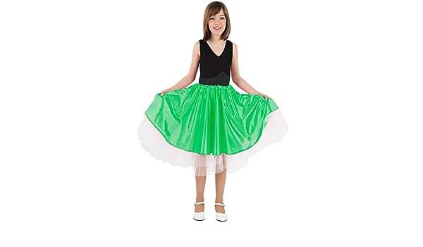 DISBACANAL Falda Olivia niña - Verde, 10 años: Amazon.es: Juguetes ...