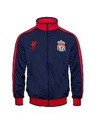 Liverpool Football Club Official Gift Boys Retro Track Top Jacket 12-13 Yrs XLB