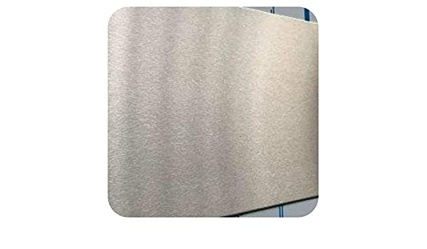 43,00 Eur/M²) 0,8 mm Chapa de acero inoxidable 240 grano ...