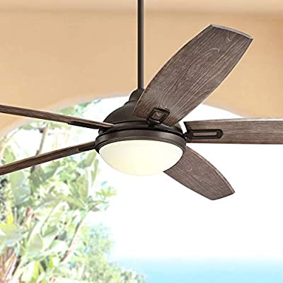 Casa Vieja. Ventilador de techo Casa Domain rústico de 183 cm para ...