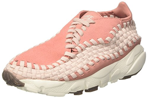 NIKE Damen WMNS Air Footscape Woven Gymnastikschuhe, Rot (Red Stardust/Silt Red/Sail/Gum Med Brown)