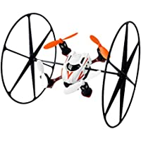 6 Axis Gyro 2.4 Ghz Remote-controlled Rechargeable Quadcopter Helicopter Rotatable Motor Arm Drone Aerocraft