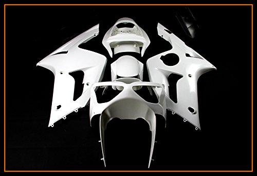- Protek Unpainted ABS Plastic Injection Mold Full Fairings Set Bodywork Cowl for 2003 2004 Kawasaki Ninja ZX6R ZX6RR 636 ZX636C ZX600M ZX600K