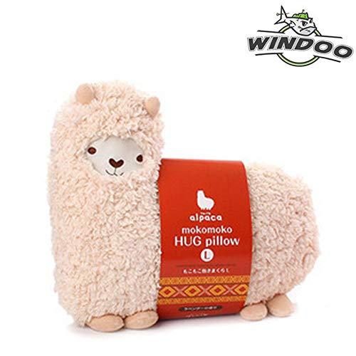 SAVYOU White color Aunt Merry Mokomoko Llama Alpaca Hug Pillow Cushion Doll by ()