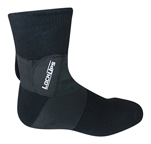 Lock Up Socks  For Therapeutic Use And Improved Athletic Performance  Small   Black