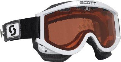 (Scott Sports 87 OTG Speed Strap Goggles (White Frame/Brown Lens))