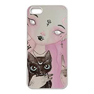 iPhone 5 5s Cell Phone Case White Teen Witch FY1524195