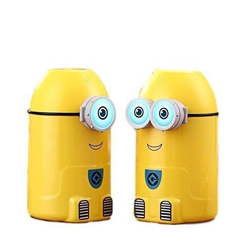 Mist Minion Humidifier Eye Glows in the Dark, 250 ML for Kids Room, Bathroom, Office, Dorm, Kitchen