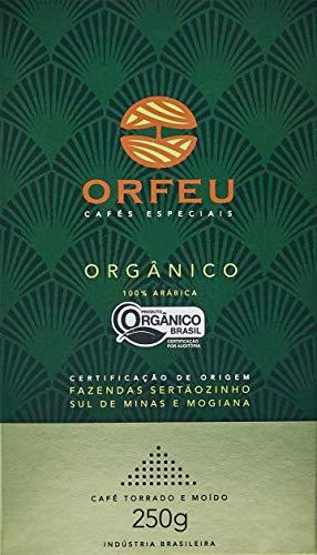 Café Moído Orgânico Orfeu 250g