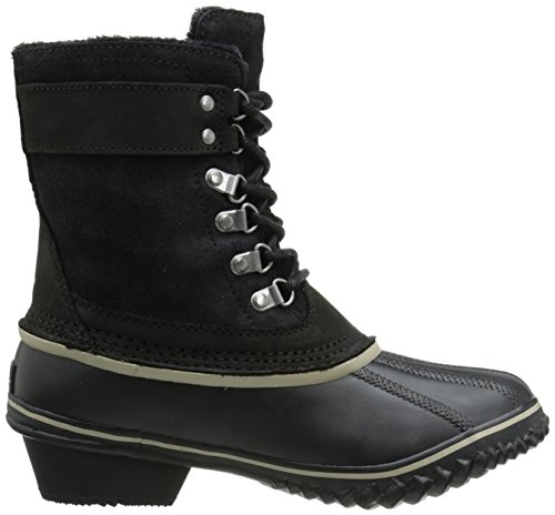 Sage Chukka Sorel Damen about Silver Boots Leather Out Black N 1wqzxaO1
